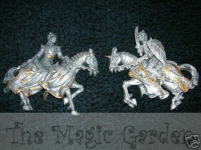 Knights horses medieval plaster craft resin latex moulds molds