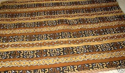 African Mudcloth, Handwoven, Handpainted, Ex Lge