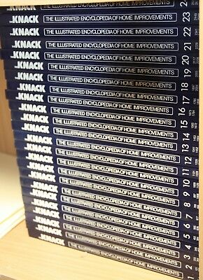The Knack The Illustrated Encyclopedia Home Improvements Bulk Lot 24 Books Set