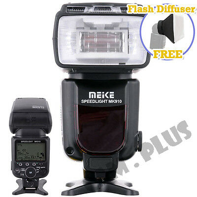 Meike MK-910 i-TTL Master HSS Flash Speedlite for Nikon SB900 D750 as YN568EX II
