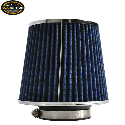 "2.75/"" Cold Air Intake Filter Universal BLUE For Plymouth Scamp//Savoy//Voyager//VIP"