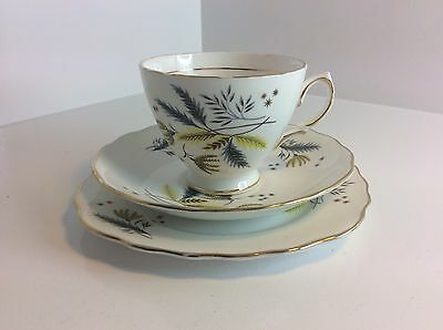 Colclough Cup, Saucer And Plate Trio