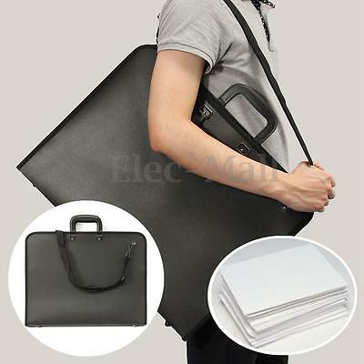 A2/A3 File Bags Portfolio Drawing Painting Storage Folder Document Carry Cases