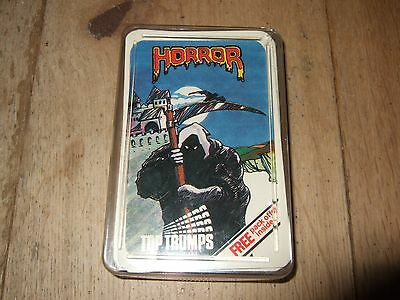 Devil Priest Horror Top Trumps Cards Rare Vintage Dubreq Black Bat Excellent