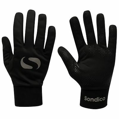 Sondico Kids Players Gloves Junior Boys Hands Protection Training Sports
