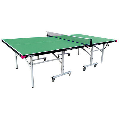 Butterfly Easifold Outdoor Rollaway Table Tennis Table Net Post Cover - Green