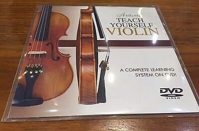 Teach yourself Violin DVD complete Leanring System On DVD RRP 19.99