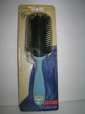 NOS Vintage Goody Styling Hair Brush  New Blue
