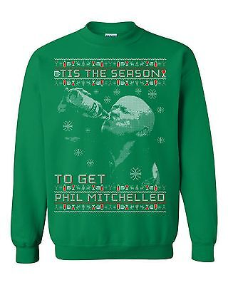 Funny Phil Mitchell Eastenders Christmas Party Jumper 'Tis The Season'