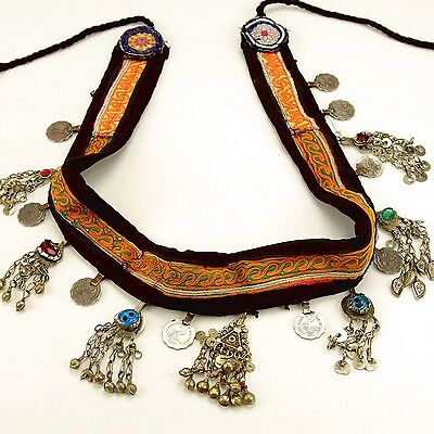 Belly Dance Nomadic Afghan TRIBE Coin BELT Kuchi 867n6