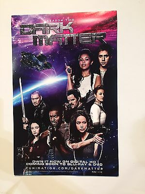Promo Poster Print Dark Matter 11x 17 Inches Limited Print SyFy
