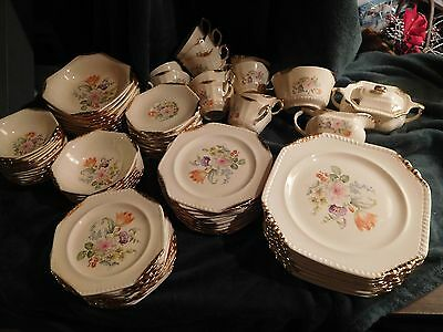 Salem ~ Heirloom ~ Rust Tulip ~ Vintage China Collection ~ Mint Condition