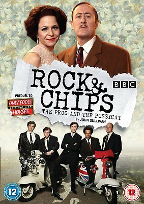 Rock & Chips - The Frog And The Pussycat Dvd New R2 Pal