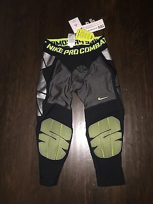 NIKE Men's Pro-Combat HYPERSTRONG Padded Baseball Compression Pants Small $100 S