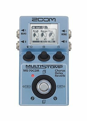 Zoom MS-70CDR MultiStomp Chorus/Delay/Reverb Pedal MS70CDR