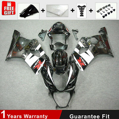 Injection K3 K4 for Suzuki GSXR 1000 03-04 Fairing Kits Bodywork ABS Black