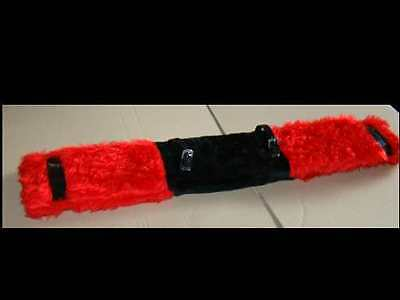 Trotting Harness Replacement Fleecepad Red / Black