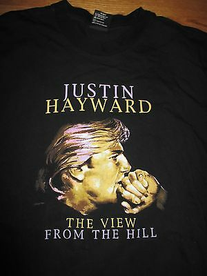 1996 JUSTIN HAYWARD The View from the Hill Concert Tour (XL) T-Shirt MOODY BLUES