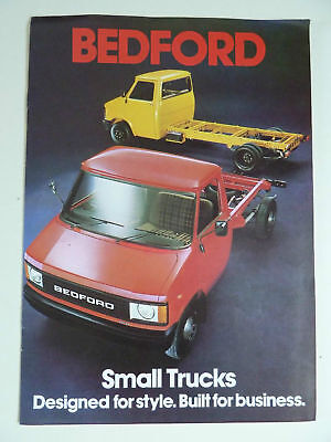 Bedford GM Small Trucks Brochure 1981