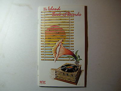 The Island Book Of Records 1975 Catalogue of Island/Obscure/Bronze Albums