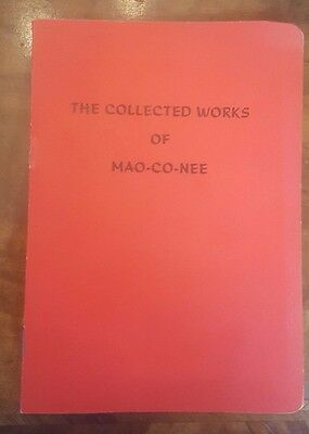 The Collected Works of Mao-co-nee Marconi 1960s Mao-Tse-Tung Little Red Book