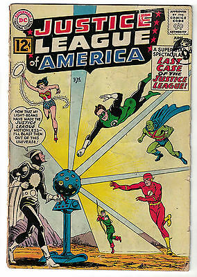 DC Comics JUSTICE LEAGUE OF AMERICA The Worlds Greatest Superheroes No. 12 VG-
