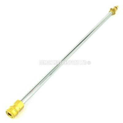 Halfords AR Jet Wash 11.6mm Quick Release Conversion Adapter Lance (Pick Length)