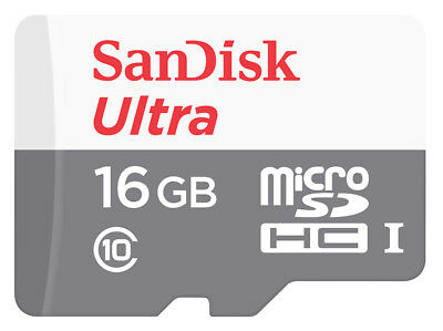 16GB SanDisk micro SDHC Memory Card Stick For Olympus WS-811 Voice Recorder