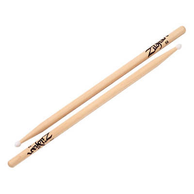 Zildjian 5A Nylon Natural Drumsticks Pair