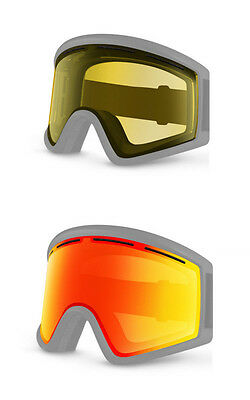 Von Zipper Replacement Goggle Lens - Cleaver Fire Chrome and Yellow Lenses