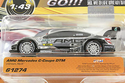 Carrera Go 61274 Amg Mercedes Dtm J. Green New 1/43 Slot Car In Factory Package