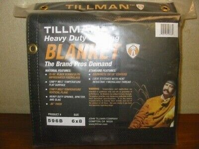 TILLMAN 596B  6' x 8' HEAVY DUTY WELDING BLANKET