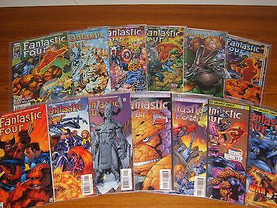 Fantastic Four #1 - 13 Set (2Nd Series 1996) (Marvel) 13 Issues