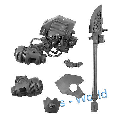 Warhammer 40K Bits: Blood Angels Furioso Dreadnought - Arm & Force Weapon