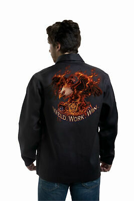 "Tillman 9063 ""weld, Work, Win "" Fr Welding Jacket  M - 3X"