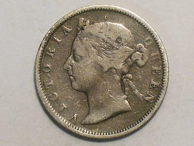 1894 British Honduras 25 Cents - 925 Sterling Silver Foreign World Coin