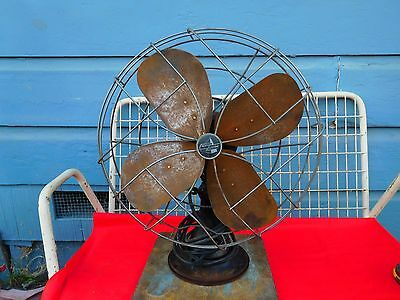Vintage Emerson Electric  metal fan 21' High,17'' Wide, St Louis,MO.Model 7964B