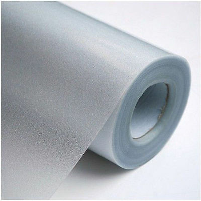 1 Roll Frosted Privacy Home Bedroom Bathroom Glass Window Film Sticker Novelty