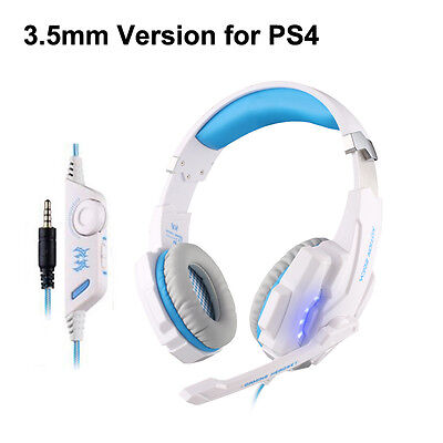 G9000 Gaming Headset Stereo Surround LED MIC Headphones for PC Laptop PS4 iPhone