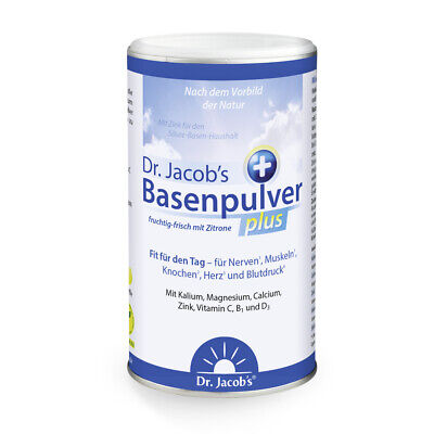Dr. Jacob's Basenpulver plus 300g