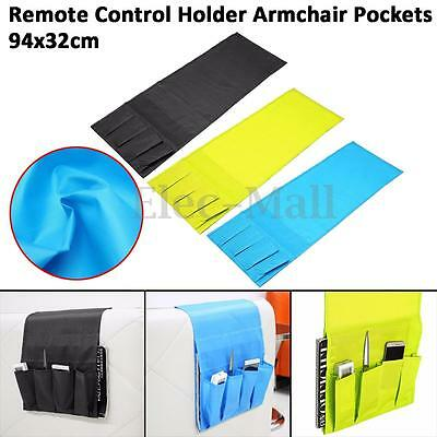 Multifunctional 4 Pocket Remote Control Holder Organizer Armchair Couch Storage