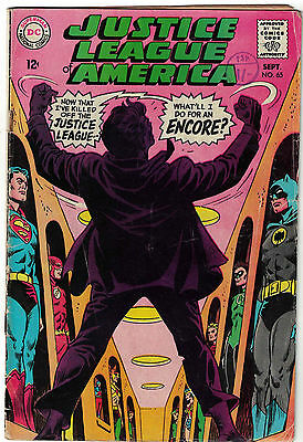 DC Comics JUSTICE LEAGUE OF AMERICA The World's Greatest Superheroes No 65 VG+