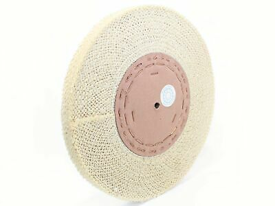 300x25mm Sisal-Natur Vorpolierscheibe (aggressiv); Made in Germany