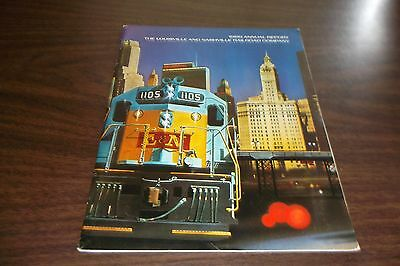 1969 L&n Louisville & Nashville Railroad Company Annual Report