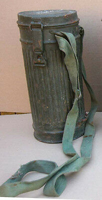 Original WWII German Gas Mask Canister box