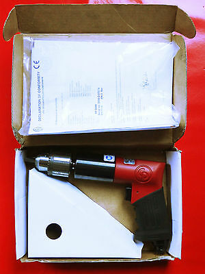 """Chicago Pneumatic CP Redipower RP9286, 1/2"""" Pistol Drill With Handle, Boxed, New"""