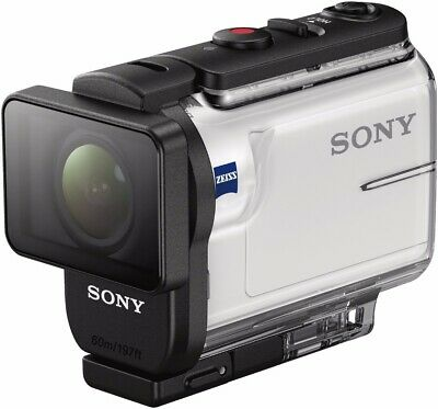 Sony HDRAS300R/W HD Recording, Action Cam, Live View Remote Underwater Camcorder