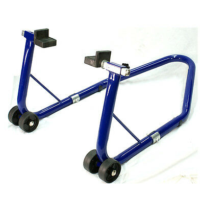 Oxford Blue Bike Swingarm Rear Paddock Stand Lift Motorcycle Motorbike