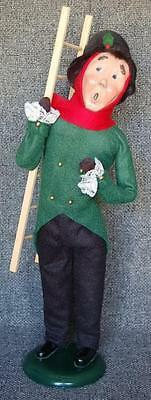 Circa 1993 Byers Choice The Carolers Chimney Sweep With Ladder