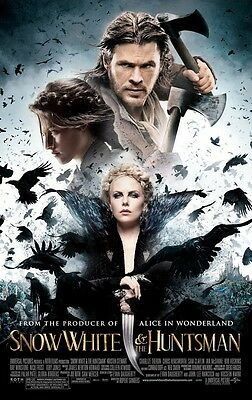 Snow White and the Huntsman - original DS movie poster - D/S 27x40 Final